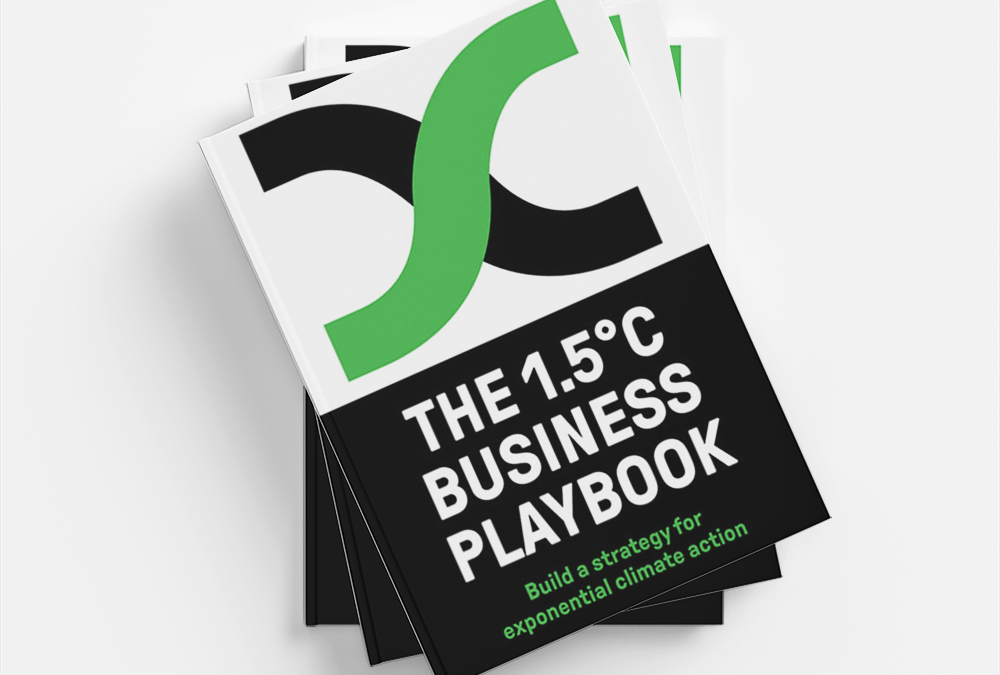 The 1.5°C Business Playbook: your company's roadmap for exponential climate action