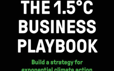 Houdini endorses 1.5°C Business Playbook