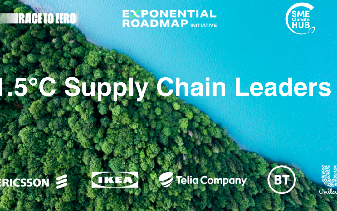 1.5°C Supply Chain Leaders Announced