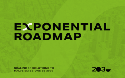 Roadmap spells it out: here's what's needed to reach climate goals
