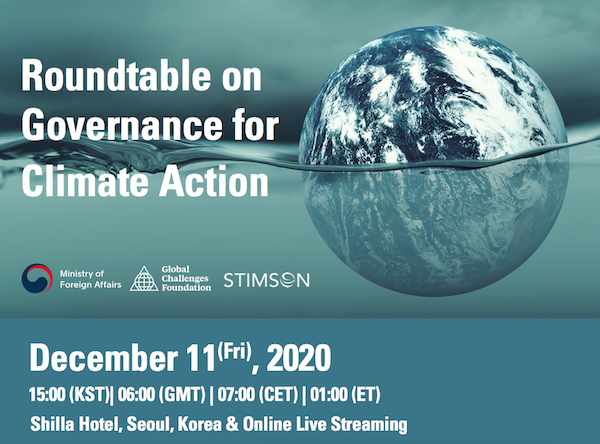 Roundtable on Governance for Climate Action