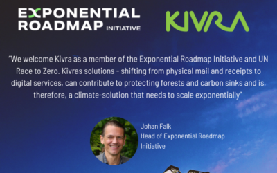 Kivra joins Exponential Roadmap Initiative and UN Race to Zero
